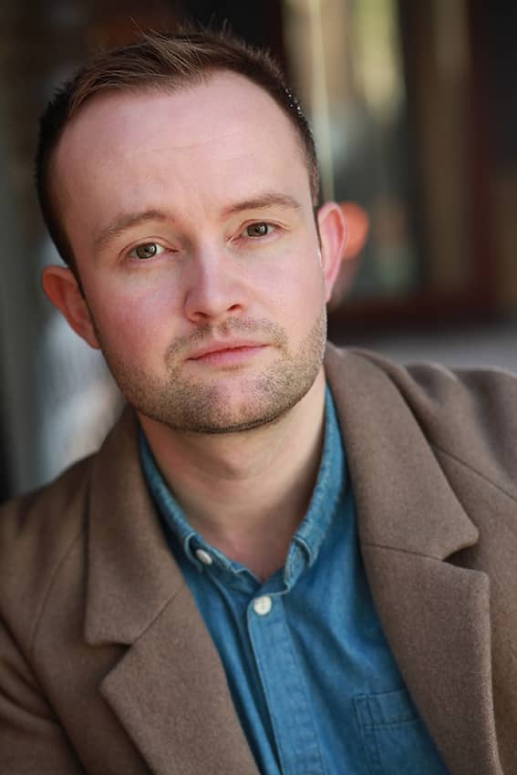 Cam Davies Comedian headshot in colour