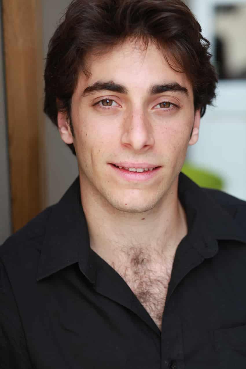 actor in blackshirt photographed outdoor light