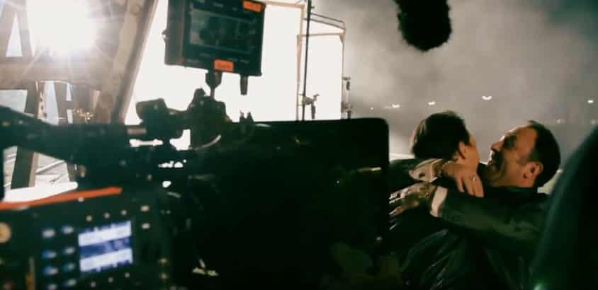 self-tape on set shooting