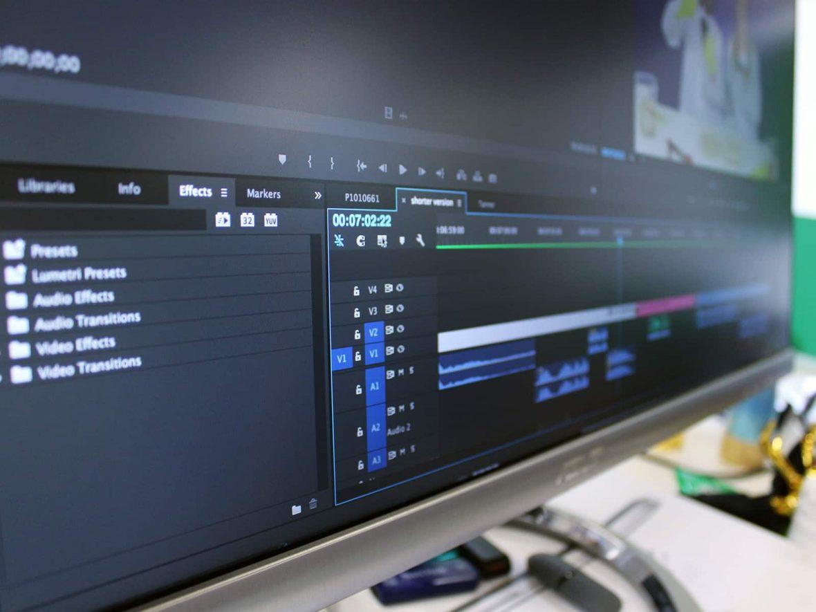 Shotware editor for actor showreels